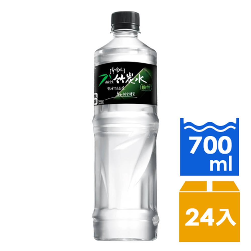 味丹多喝水鹼性竹炭水700ml (24入/箱) 快速到貨
