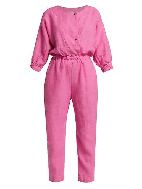 Holt Linen Jumpsuit