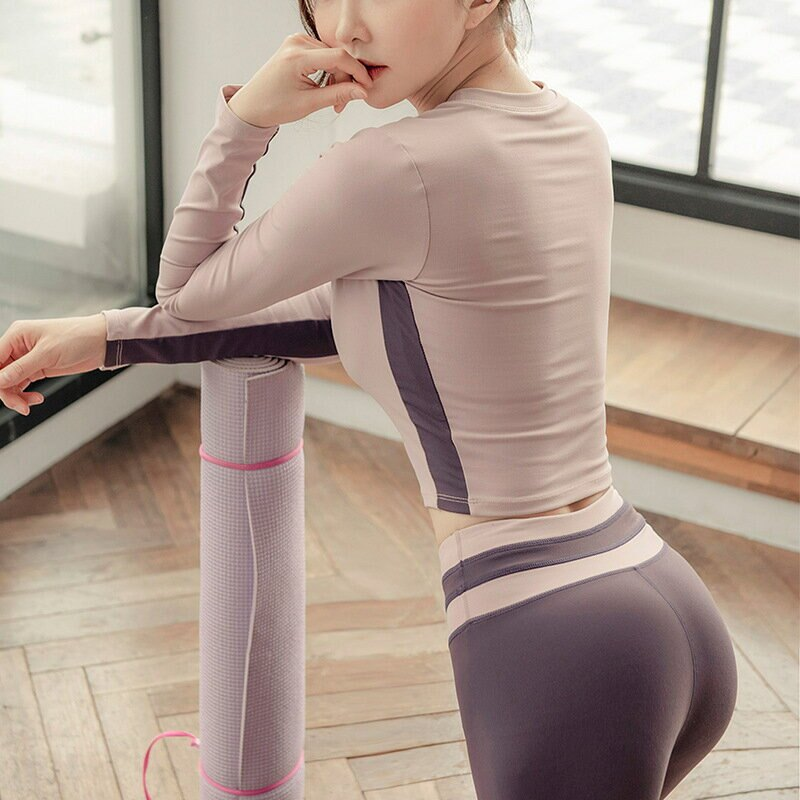 lulu瑜伽服秋冬新款運動衣女長袖t恤跑步速乾健身罩衫女