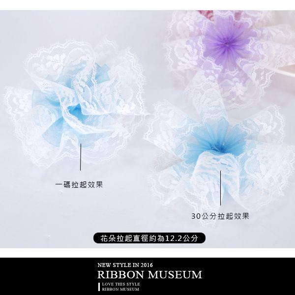 PP1838-28 蕾絲手拉花禮盒 母親節花 包裝 裝飾 婚禮緞帶 蝴蝶結緞帶 康乃馨