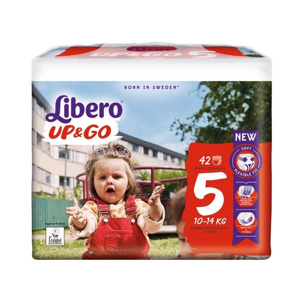 Libero 麗貝樂 UP&GO敢動褲-5號(L-42片)/6號(XL-40片)/7號(XXL-36片)【悅兒園婦幼生活館】【618購物節】