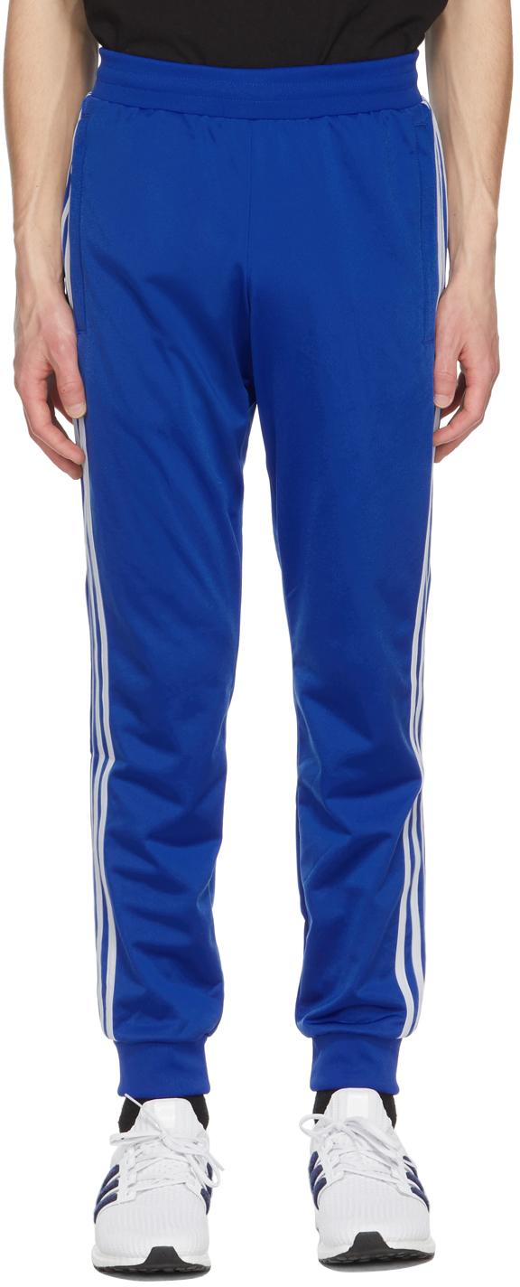 adidas Originals 蓝色 3-Stripes 运动裤