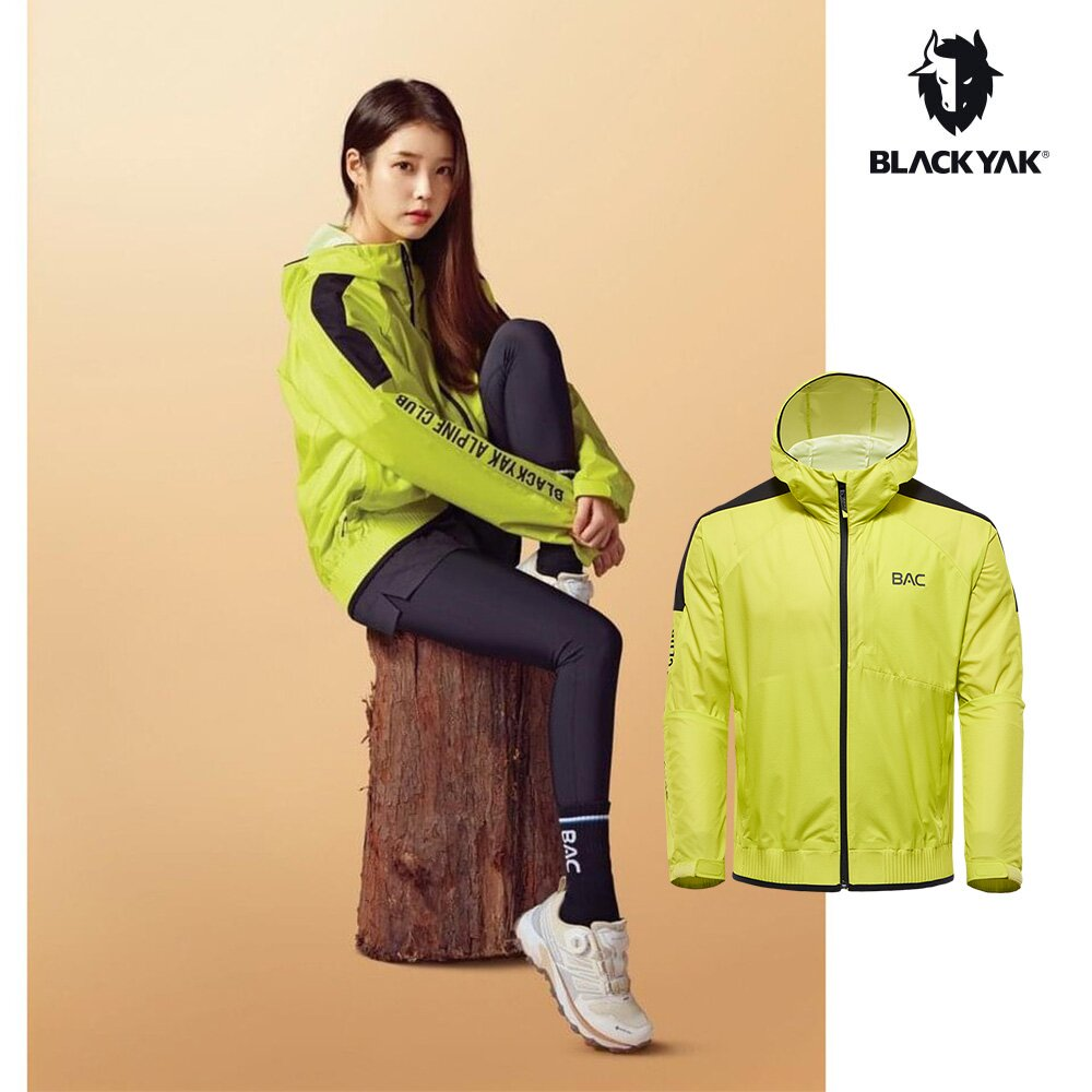 【BLACKYAK】BAC BAEKWOON 2 輕量防風外套[萊姆黃] 中性款 防風 保暖 休閒 外套BYAB1NJ00124