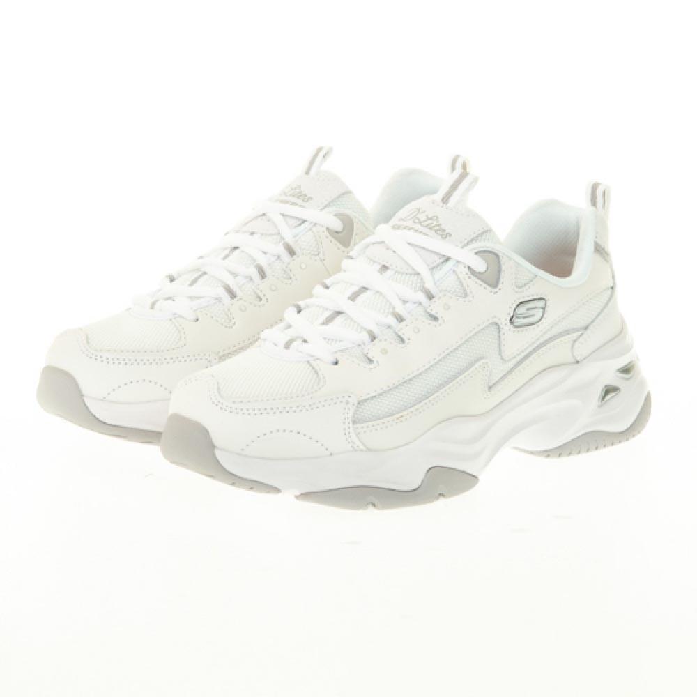 SKECHERS DLITES 4.0 女 休閒鞋 白