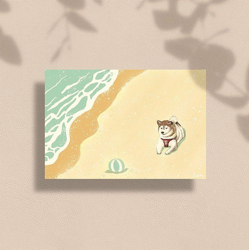 日常插畫集 / 套組 / 10張卡片