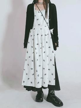 韓國空運 - Layered Judy Long Dress 長洋裝