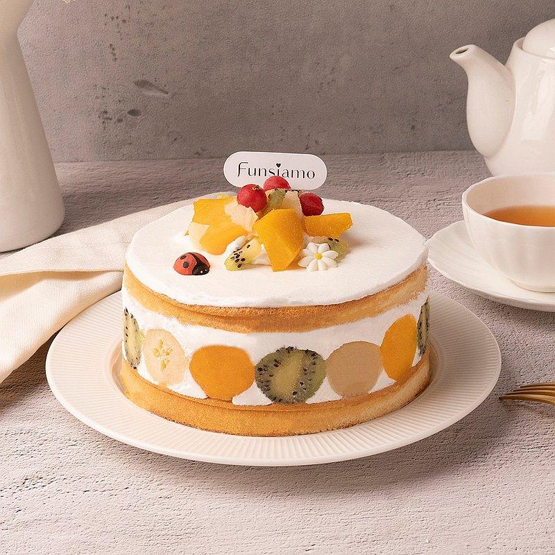 【台北京站店】森菓園・水果寶石蛋糕・DIY 平板教學・附飲品