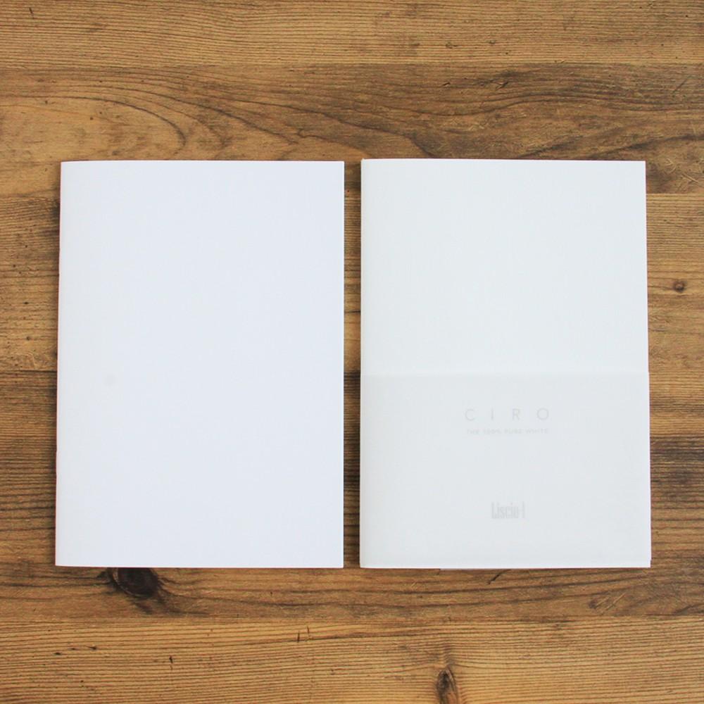 神戶派計畫|CIRO鋼筆專用純白橫線筆記本(兩款+A5、A5)
