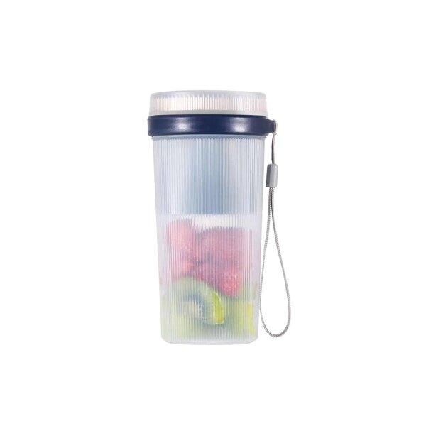 新第三代USB高轉速六刀隨行果汁機 電動榨汁杯 便攜果汁機 防水保護 啟動藍光顯示 【智選好品】