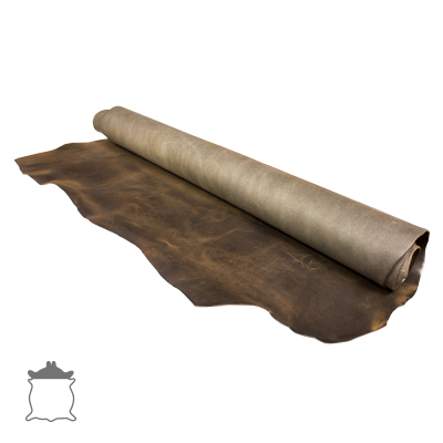 IVAN 帕華洛帝雙肩植鞣革 古鎳灰 91386-C