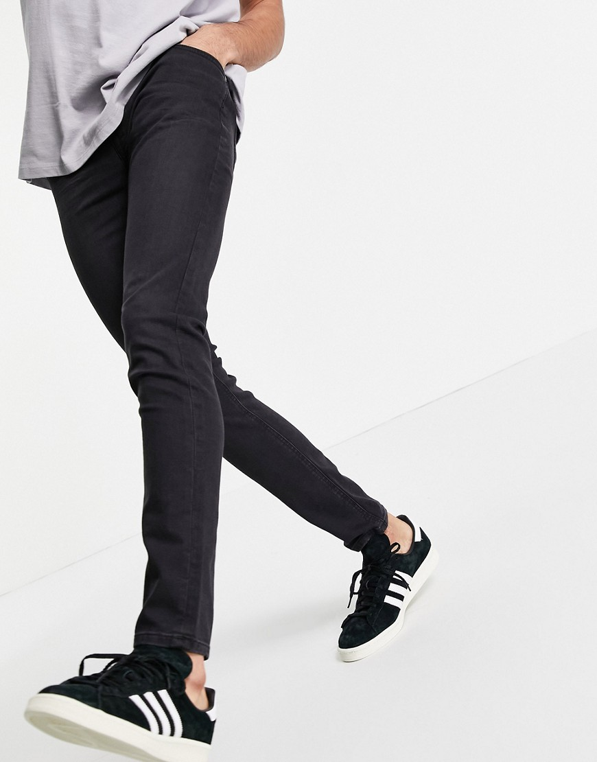 Lee Malone skinny fit jeans in black