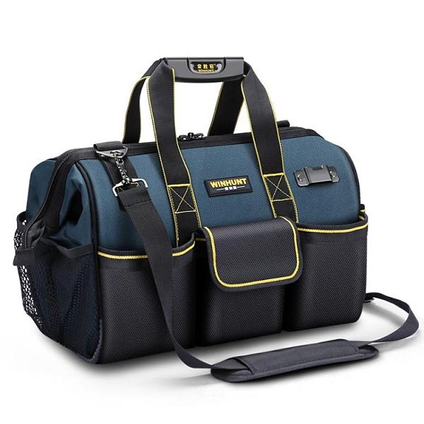 常勝客電工工具包多功能維修男便攜帆布大加厚耐磨專用空調安裝袋 設計師