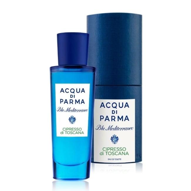 Acqua di Parma 帕爾瑪之水 藍色地中海-托斯卡納柏樹淡香水30ml-航版