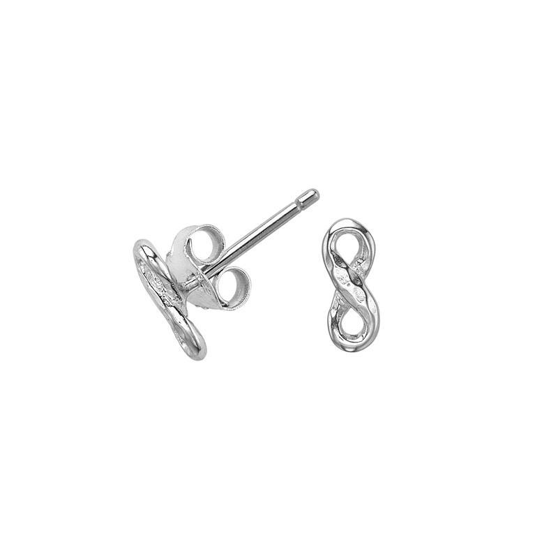 Entwined Infinity Studs
