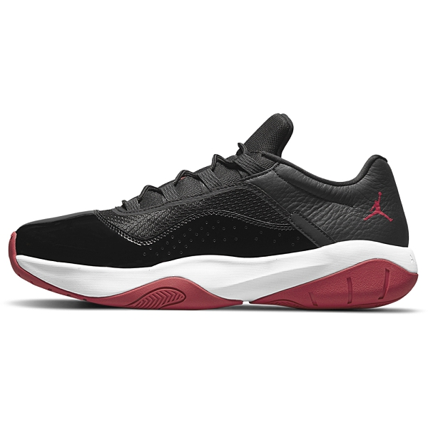 NIKE AIR JORDAN 11 CMFT LOW 男鞋 籃球 休閒 氣墊 漆皮 黑 紅【運動世界】DM0844-005
