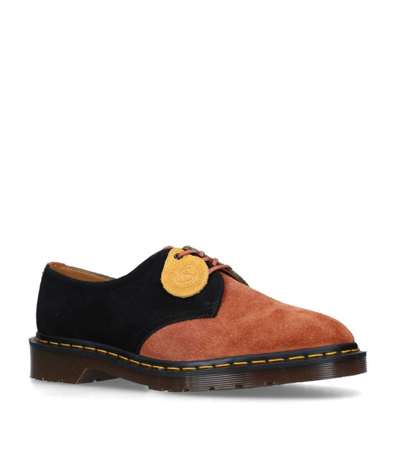 Dr. Martens Suede Patch Vintage 1461 Derby Shoes