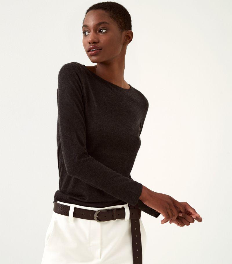 Brunello Cucinelli Cashmere-Silk Sweater