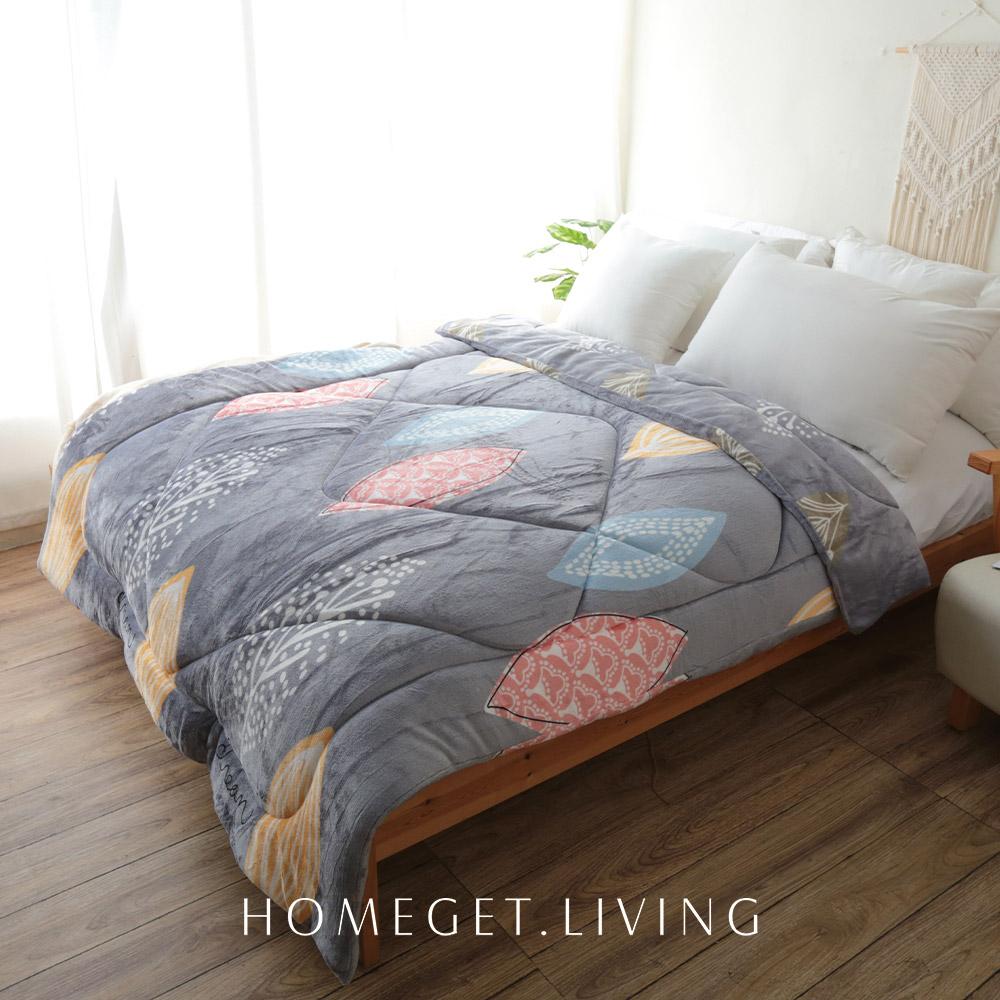 保暖舒適法蘭絨雙面暖暖被 / 150x200cm / 悅顏