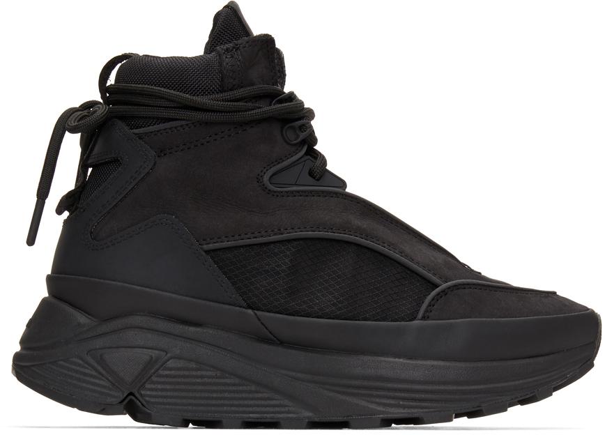 C2H4 黑色 Atom Alpha 踝靴