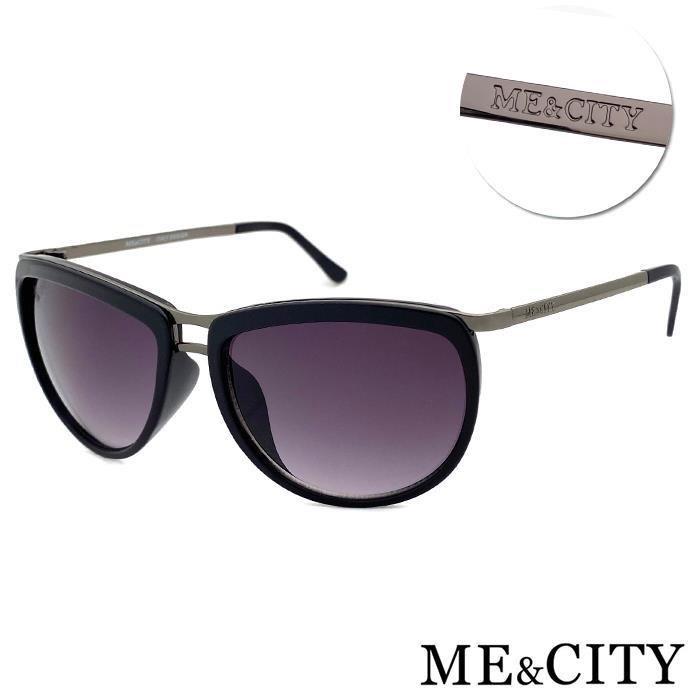 【SUNS】ME&CITY 復古時空雙梁太陽眼鏡 抗UV(ME 120025 L000)