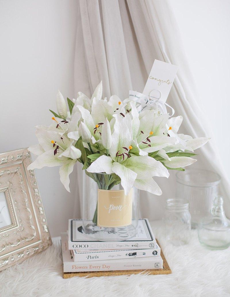 白百合英語|漢普頓花瓶花裝飾