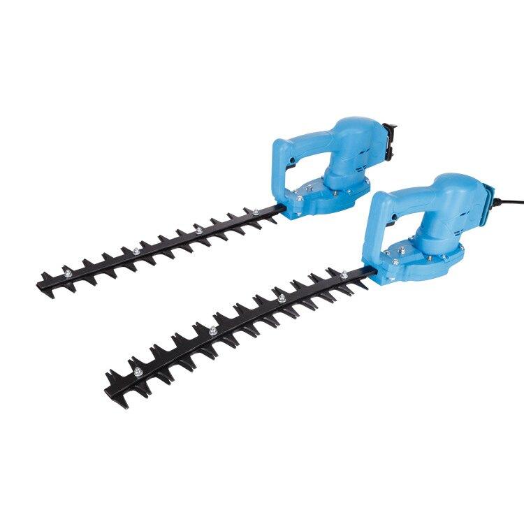 小型充電式園林綠化綠籬機籬笆弧形彎刀修剪機電動球樹修枝剪