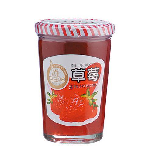 自由神 草莓果醬(450公克/罐) [大買家]