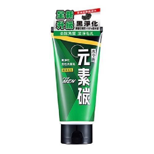 水平衡 元素碳男性洗面乳-激淨毛孔(100g/瓶) [大買家]