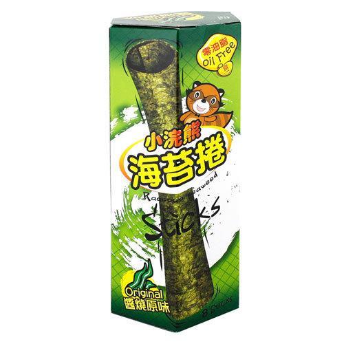 小浣熊 海苔捲-醬燒原味 8支(24g/盒) [大買家]