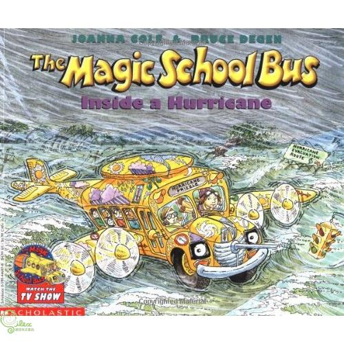 The Magic School Bus Inside a Hurricane【禮筑外文書店】[73折]
