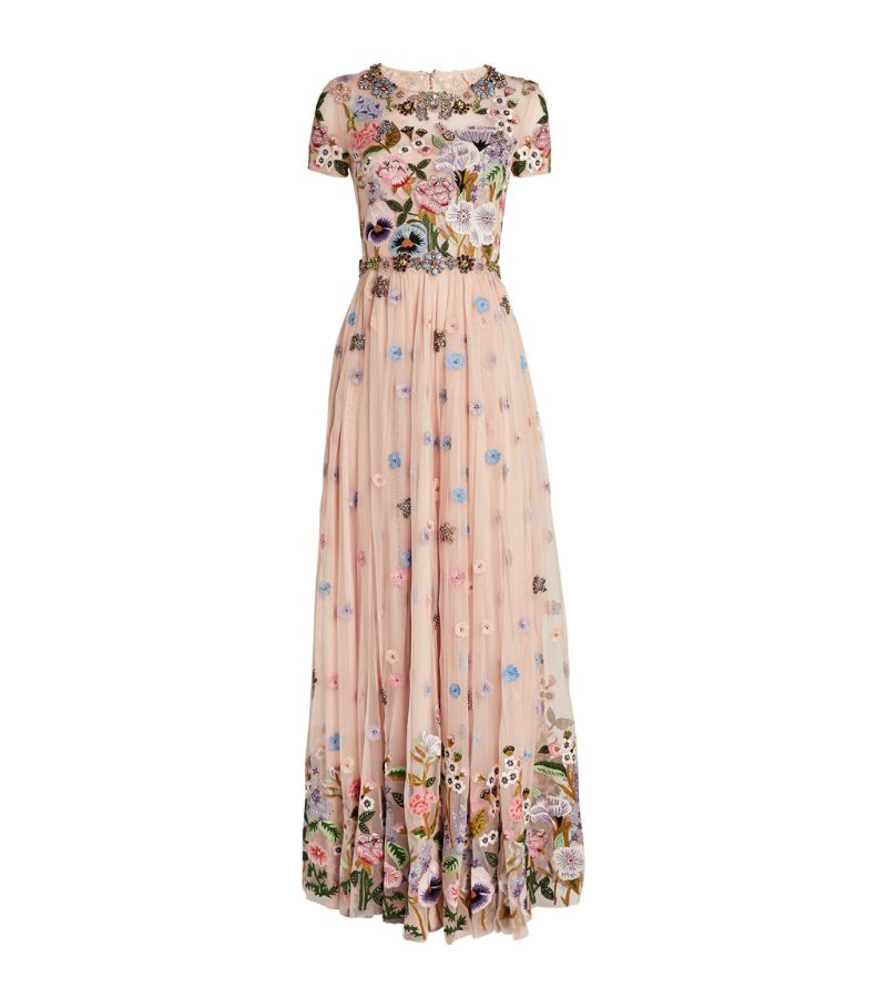 Jenny Packham Embroidered Pretty Lady Gown