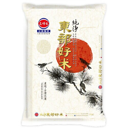 三好 純淨東部好米(3kg/包) [大買家]