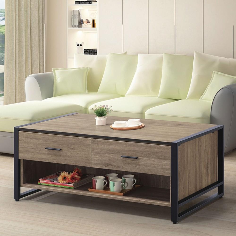 130cm大茶几-k69-45實木原木玻璃 大理石長方桌 大小邊几 圓桌  金滿屋