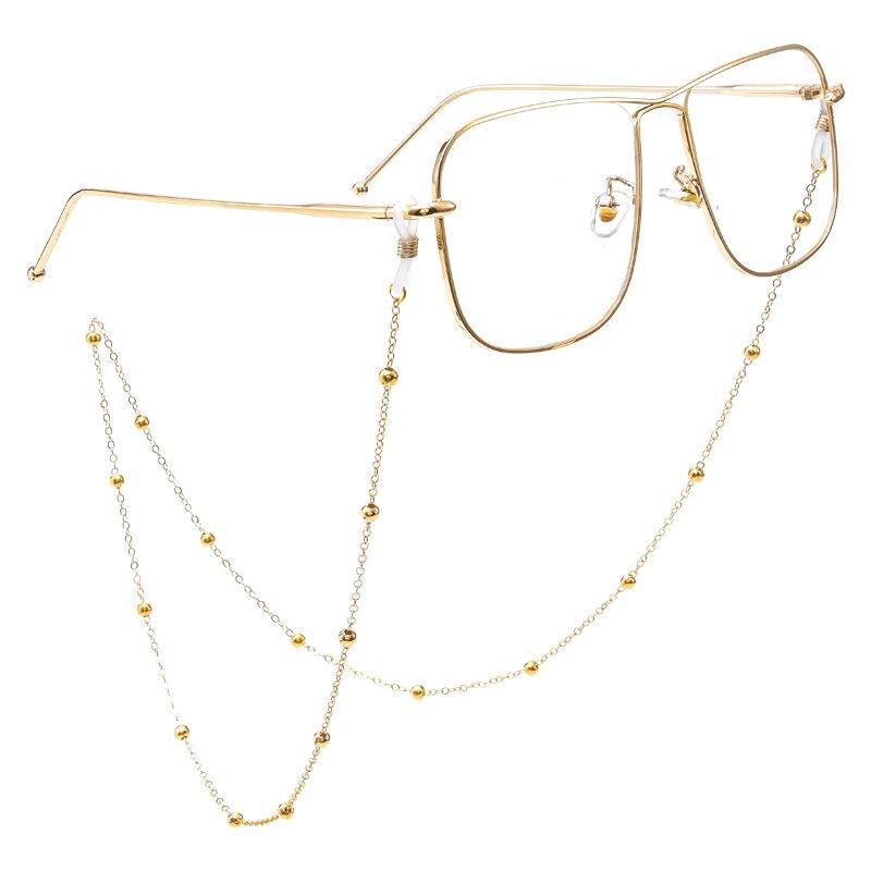眼鏡鍊 眼鏡鍊女掛脖復古眼睛鍊子掛繩時尚男墨鏡帶鍊條 【CM4614】