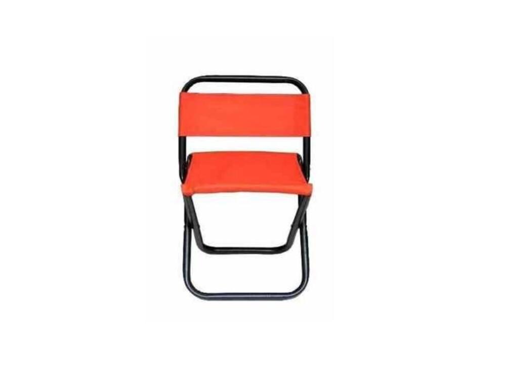 大型童軍椅橘色-戶外休閒椅.收納椅.椅子.折疊椅.摺疊椅.方便椅