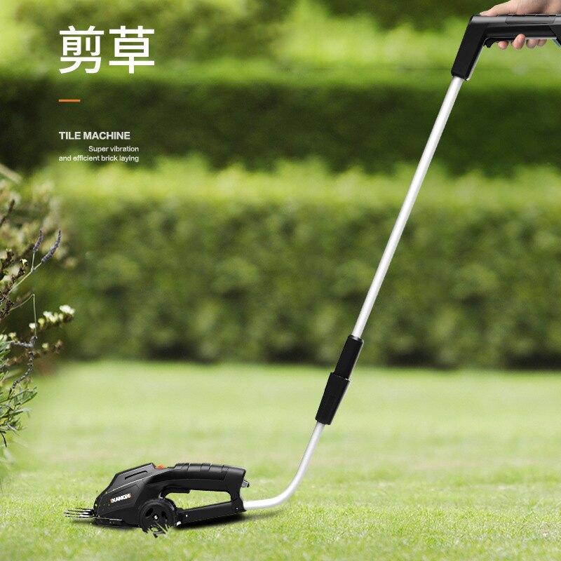 電動綠籬機修剪機家用充電式電動剪園藝工具修枝剪草機割草