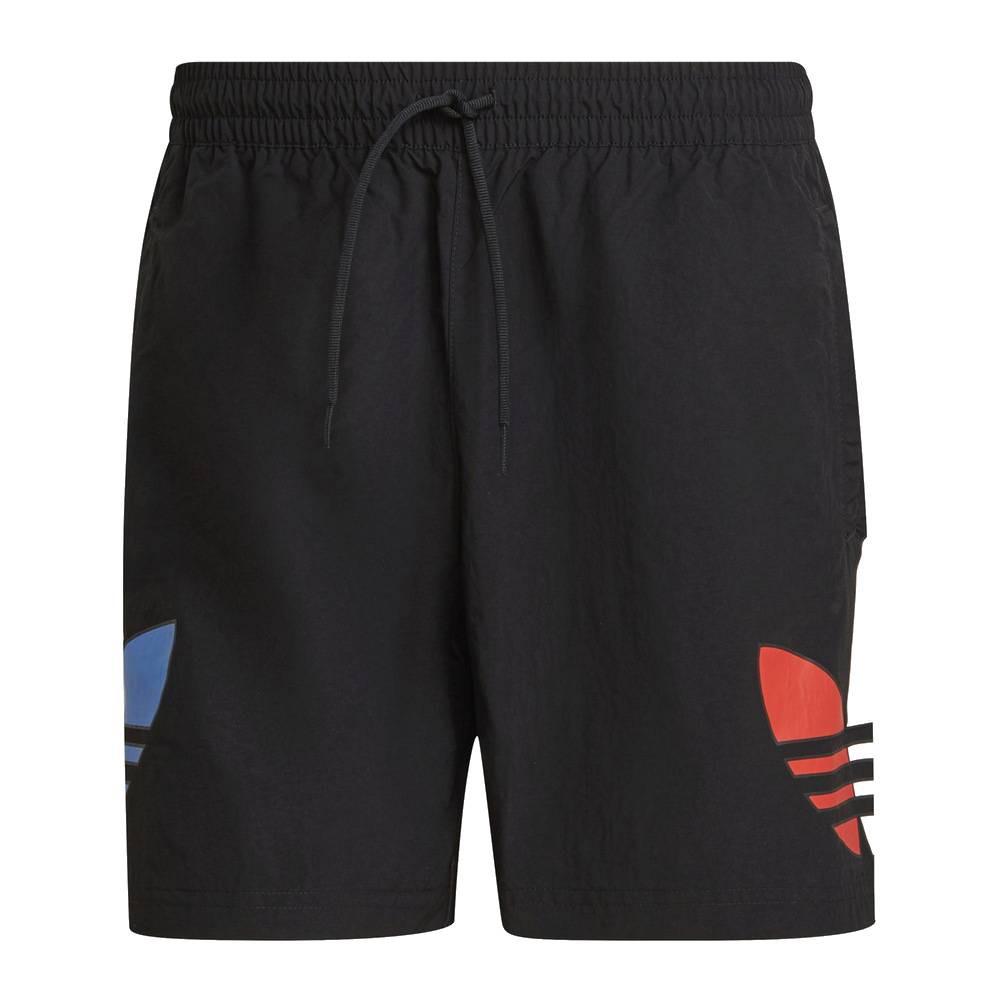 ADIDAS ADICOLOR 男游泳短褲 GN3568 黑