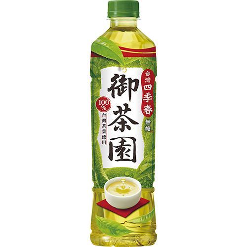 御茶園 台灣四季春(550ml*4瓶/組) [大買家]