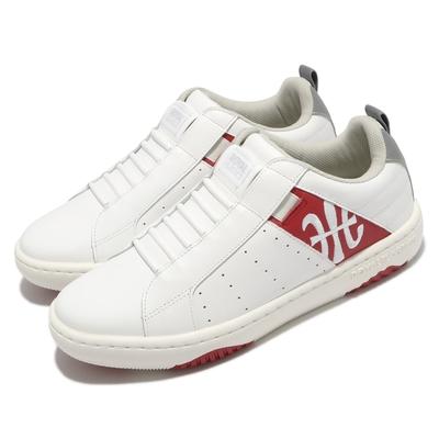 Royal Elastics 休閒鞋 Icon 2 套腳 運動 男鞋 基本款 皮革 簡約 舒適 穿搭 球鞋 白 紅 06512018