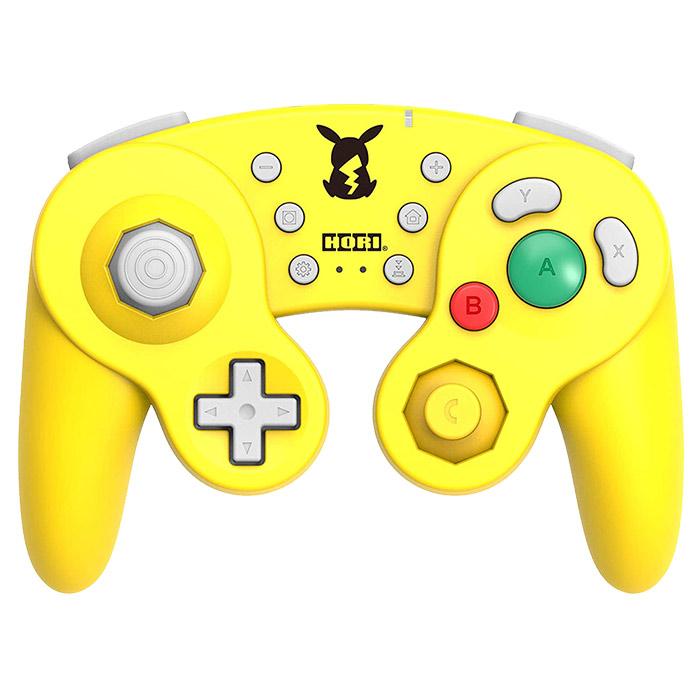 【NS周邊】NGC無線經典控制器 皮卡丘款 for Nintendo Switch《HORI (NSW-275A)》