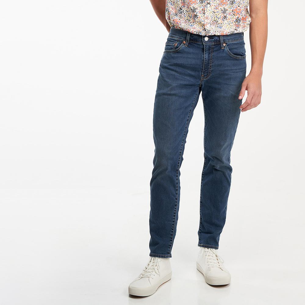 Levis 男款 511低腰修身窄管牛仔褲 / Cool Jeans 輕彈有型 / 精工藍染水洗-人氣新品