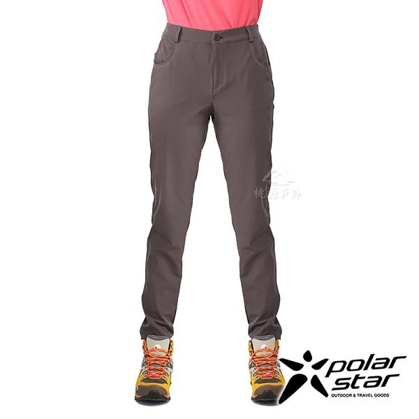 PolarStar 女 四彈抗UV極窄管褲『暗灰』P21356 戶外 休閒 登山 露營 運動褲 釣魚褲