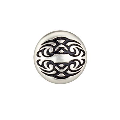 IVAN 19mm圓形紋身螺絲式飾片7433-02