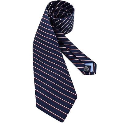 TOMMY 海軍藍色斜紋造型領帶