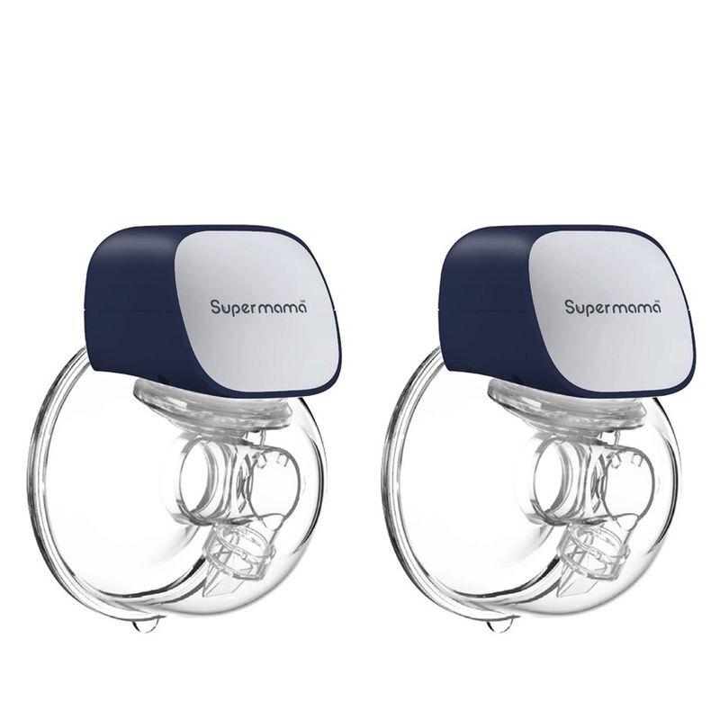 Supermama Air穿戴式雙邊電動吸乳器(24mm/27mm)★衛立兒生活館★
