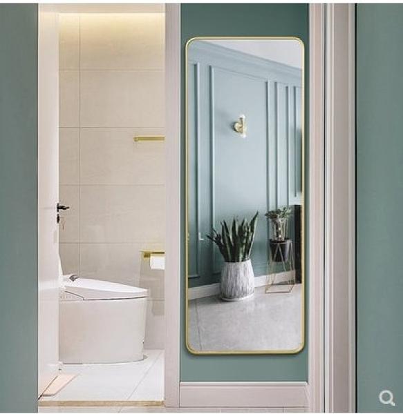 促銷 北歐穿衣鏡全身鏡落地試衣鏡浴室壁掛化妝鏡簡約家用掛牆換衣鏡子