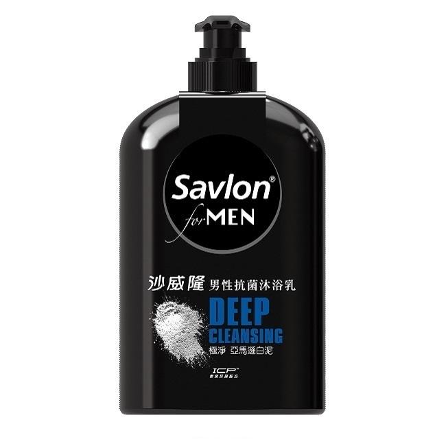 沙威隆男性抗菌沐浴乳670ML-極淨亞馬遜白泥