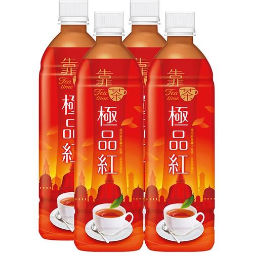 波蜜 靠茶極品紅茶(580mlX4瓶)[大買家]