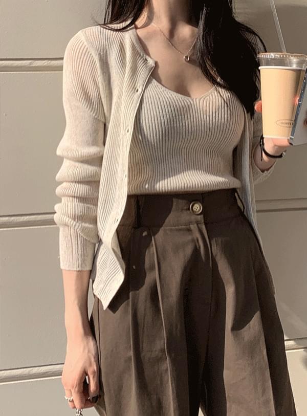 韓國空運 - Yeori Sleeveless knit 無袖