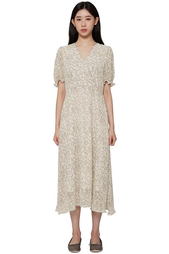 韓國空運 - Lea floral long dress 長洋裝